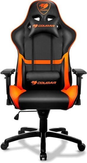 Cougar Armor, černá/oranžová (3MGC1NXB.0001)