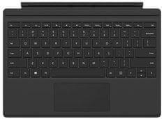 Microsoft tipkovnica Surface Pro/Pro 4 Type Cover, SLO, črna (FMM-00013)