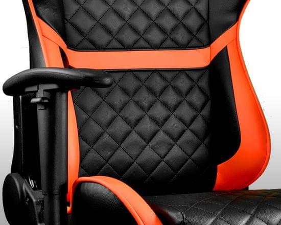 Cougar Armor One, černá/oranžová (3MARONXB.0001)