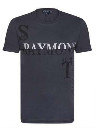 Sir Raymond Tailor pánské tričko Haskel M tmavo sivá