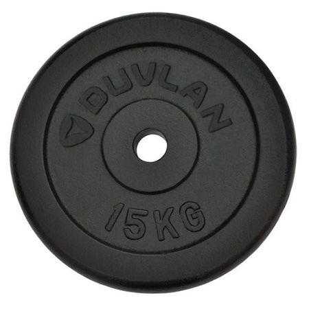 DUVLAN Závaží 15 kg ocelové