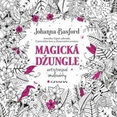 Basford Johanna: Magická džungle - Antistresové omalovánky