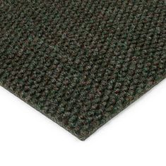 FLOMAT Zelená kobercová zátěžová vnitřní čistící zóna Fiona, FLOMAT - 1,1 cm