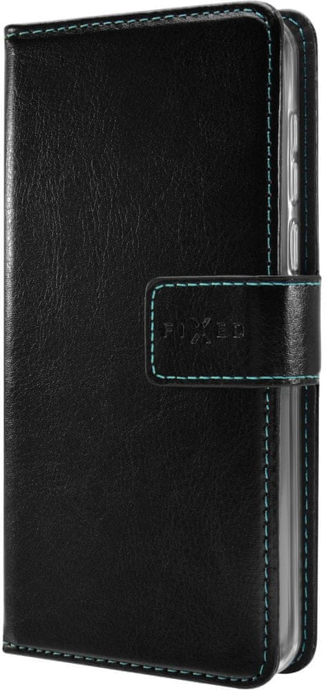 FIXED Pouzdro typu kniha Opus pro Huawei Y5 (2018), černé FIXOP-307-BK