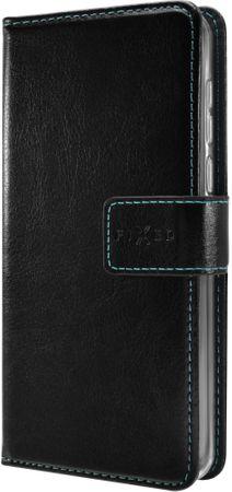 Fixed Puzdro typu kniha Opus pre Huawei Y5 (2018), čierne FIXOP-307-BK