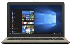 Asus prenosnik VivoBook 15 X540NA-DM208T N3350/4GB/SSD256GB/15,6FHD/W10H (90NB0HG1-M04060)