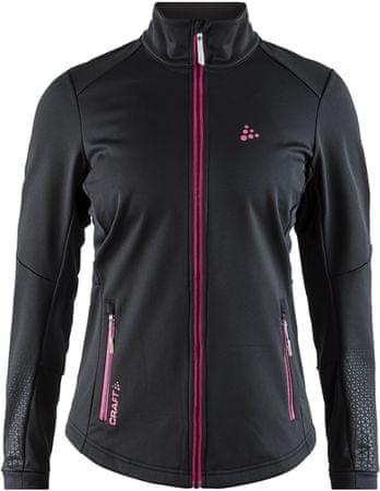 Craft ženska jakna Warm Train, črna, XS