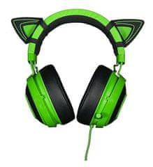 Razer mačja ušesa za Kraken Green slušalke