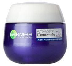 Garnier nočna krema Skin Naturals Essentials 55+, 50 ml