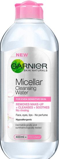 Garnier micelarna voda Skin Naturals, za občutljivo kožo, 400 ml