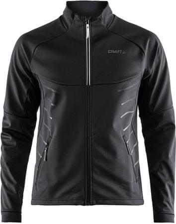 Craft moška jakna Warm Train, črna, XL