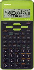 Sharp tehnični kalkulator EL531THBPK, črno-zelen