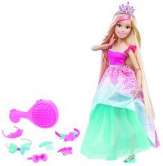 Mattel Barbie magas szőke hosszú hajú baba