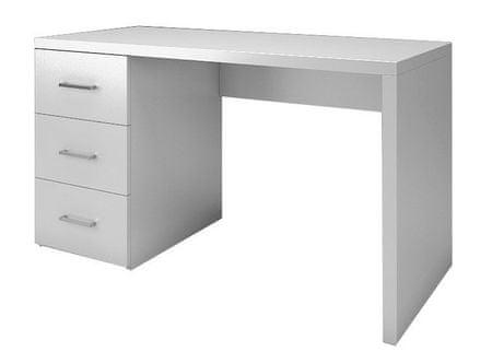 Psací stůl se šuplíky NEESTEA bílý