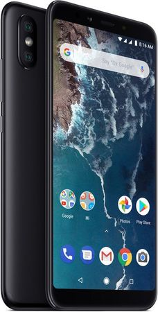 Xiaomi Mi A2 Black, 4GB/64GB, CZ LTE, Global Version