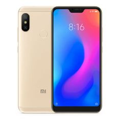 Xiaomi Mi A2 Lite Gold 3GB/32GB, CZ LTE, Global Version