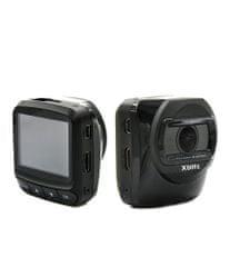 """XBlitz Kamera Naviigps, GPS, displej 2"""", zaostřovací objektiv (140°)"""
