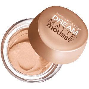 Maybelline Exkluzivní pěnový Make-up (Dream Matte mousse) (Odstín 21 Beige Doré)