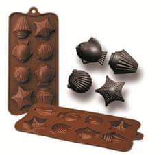 Ibili Formičky na čokoládu dary moře 10,5x21cm
