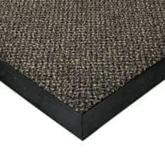 FLOMA Šedá textilní čistící vnitřní vstupní rohož Cleopatra Extra - 300 x 100 x 1 cm