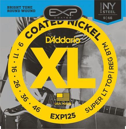 Daddario EXP125 Struny na elektrickú gitaru