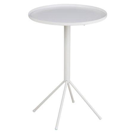 Design Scandinavia Konferenční / noční stolek Silva, 35 cm, bílá