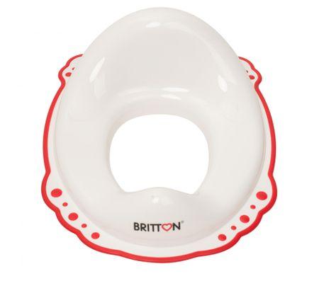 BRITTON sedátko na WC s protiskluzovým okrajem, biela