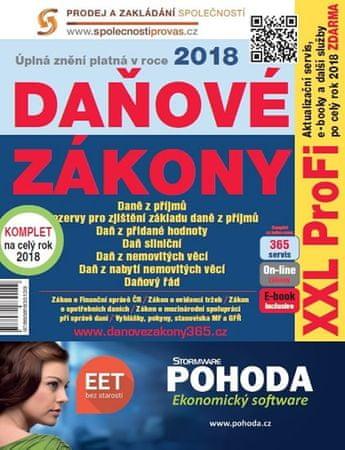 Daňové zákony 2018 XXL ProFi