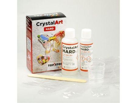 TOPSTONE Křišťálová pryskyřice CrystalArt HARD sada (150ml)