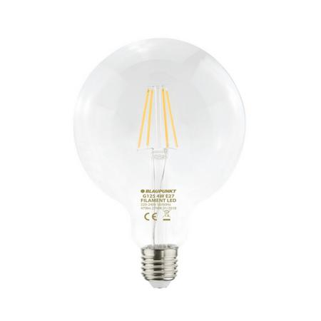 Blaupunkt LED filament žarnica G125, 4W, E27, 2700K
