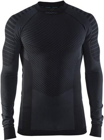 Craft moška majica z dolgimi rokavi Active Intensity, črna, S