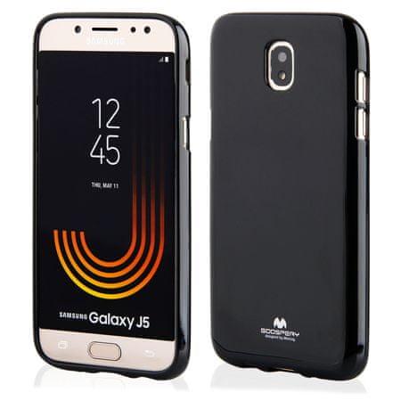 Goospery tanek silikonski ovitek Jelly za Samsung Galaxy S9 G960, črn