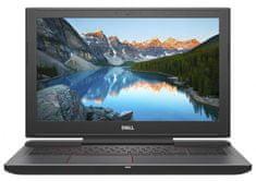 DELL gaming prijenosno računalo G5 15-5587 i7-8750H/16GB/SSD256GB+1TB/GTX1060/15,6FHD/W10P, crno (5397184156469)