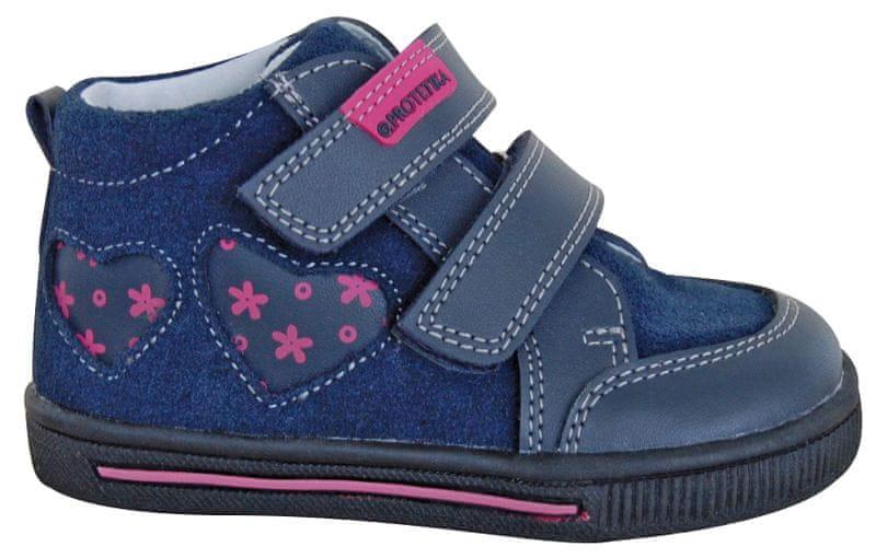 Protetika dívčí kotníkové boty SAMIRA 21 modrá