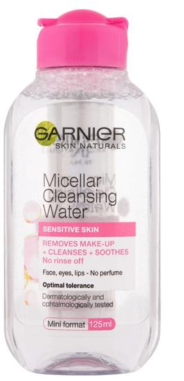 Garnier micelarna voda Skin Naturals, za osjetljivu kožu, 125 ml