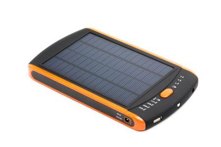 DOCA Technology Co. Solar PowerBank 23000mAh fekete/narancssárga MP-S23000