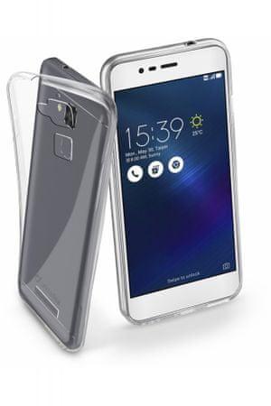 CellularLine gumijast ovitek Fine za Asus Zenfone 3 Max, prozoren