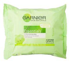 Garnier robčki za odstranjevanje ličil Skin Naturals, 25 kosov
