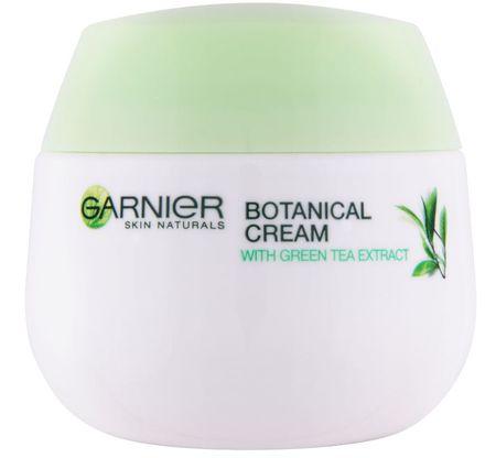 Garnier krema Skin Naturals Botanical, zeleni čaj, za mešano do mastno kožo, 50 ml