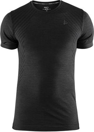 Craft moška športna majica Triko Fuseknit Comfort SS, L, črna
