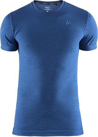 Craft moška športna majica Triko Fuseknit Comfort SS, M, modra