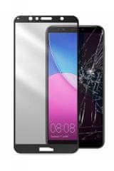 CellularLine zaščitno steklo Capsule za Huawei Y6 2018, črno