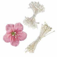 Wilton 180 bílých tyčinek pro květiny