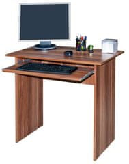 Jednoduchý  PC stůl TVIST, švestka