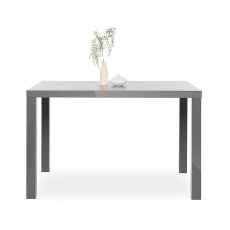 FARELA Jídelní stůl Priscilla, 120 cm, šedá mat