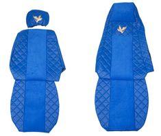 F-CORE Potahy na sedadla FX03, modré