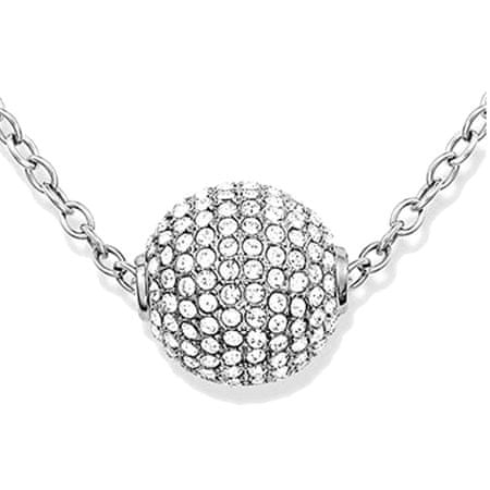 Tommy Hilfiger Ocelový náhrdelník Kulička s krystaly TH2700836