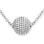 1 - Tommy Hilfiger Ocelový náhrdelník Kulička s krystaly TH2700836