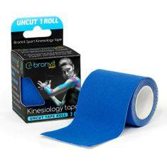 BronVit  Sport Kinesiology tape Uncut 1m x 5cm - tmavě modrá