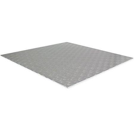 PME Podložka dortová stříbrná - čtverec 10,1x10,1cm